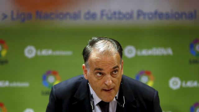 Inter vai processar presidente da Liga espanhola
