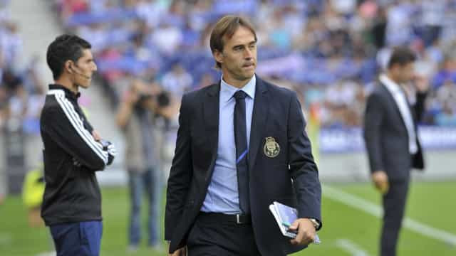 Lopetegui é o homem do dia. E o que fez como treinador do FC Porto?
