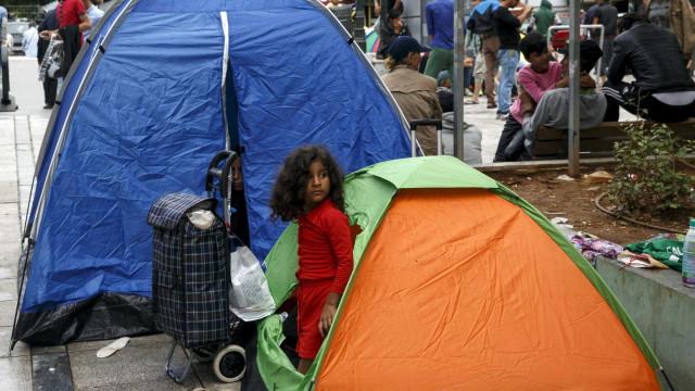 Mais de 1.500 migrantes já chegaram à fronteira dos EUA