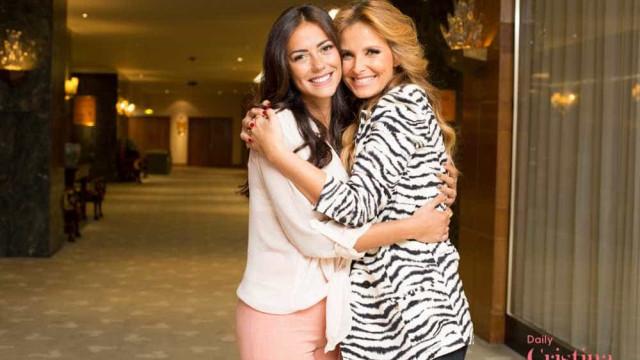 Cristina Ferreira e Sofia Ribeiro escolhem o mesmo fato de banho