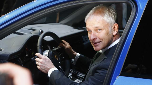 """Presidente da Volkswagen nega qualquer """"mentira"""" no caso das emissões"""