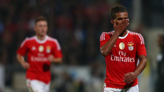 """""""Não saí por mim. Por mim teria ficado no Benfica"""""""