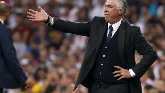 Ancelotti quer jogador do Real Madrid para reforçar ataque do Nápoles