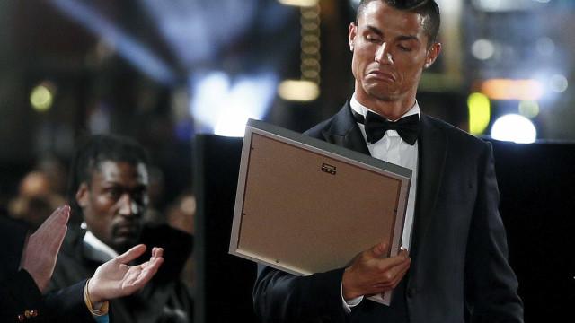 """""""Ronaldo estava chateado porque sentiu que lhe escapou a Bola de Ouro"""""""