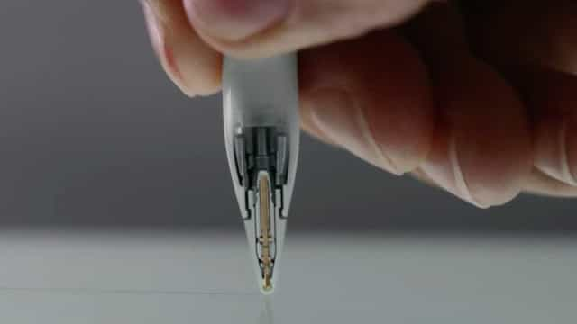 Apple patenteia caneta que permite escrever no ar