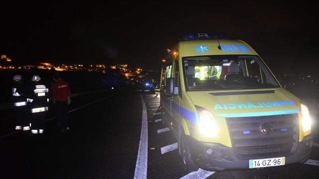 Despiste de automóvel faz um morto e um ferido grave em Montemor-o-Novo