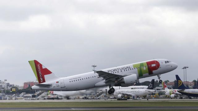 Voo da TAP de Lisboa para Londres foi cancelado hoje