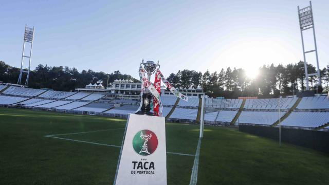 Já há calendário para os oitavos de final da Taça de Portugal