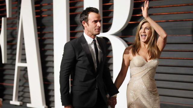 Justin Theroux fala pela primeira vez da separação de Jennifer Aniston