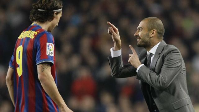 Ibrahimovic revela que pediu ao Barcelona para o vender... ao Real Madrid
