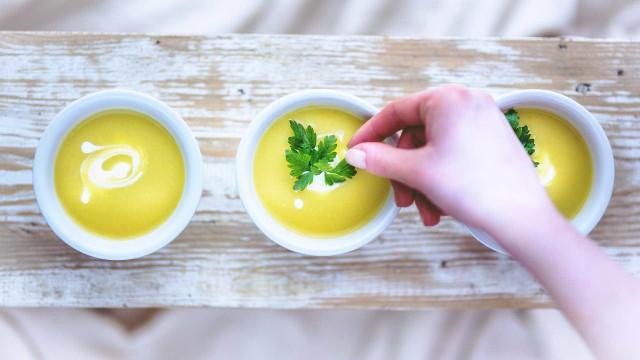 Sopa portuguesa serve de inspiração para vegetarianos