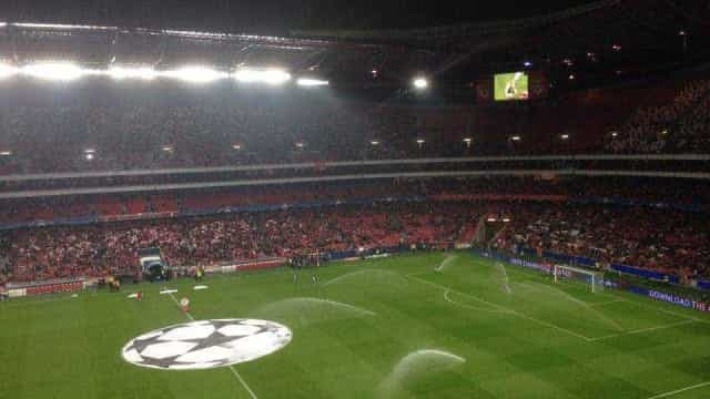 Ações do Benfica deslizam 9,5% após acusação do Ministério Público