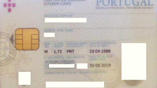 Fotocopiar cartão de cidadão já dá direito a multa