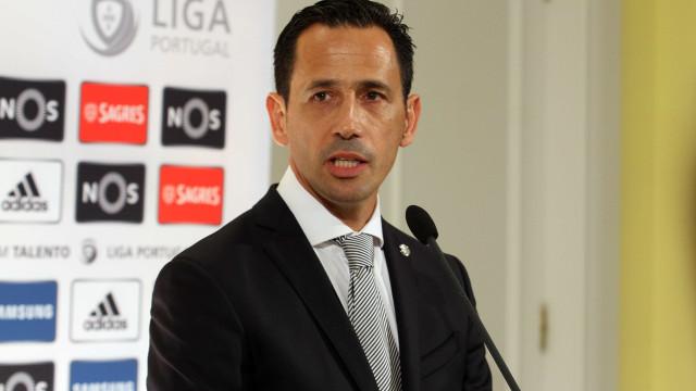 Liga reage aos insultos trocados entre Bruno de Carvalho e Salvador