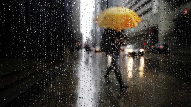 Cinco distritos sob aviso amarelo devido a chuva