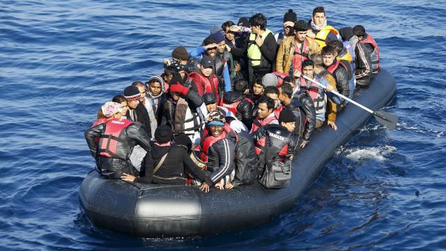 GNR resgata 41 migrantes, entre os quais crianças e grávidas