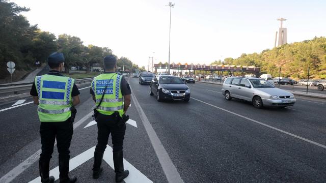 Parou numa operação STOP em Lisboa nos últimos dias? Não foi o único