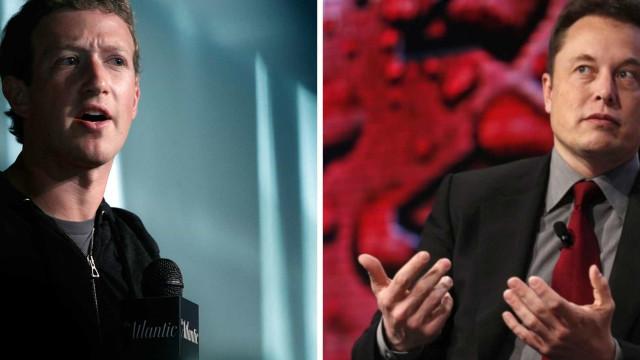 Elon Musk e Zuckerberg: Magnatas começam troca (dura) de argumentos