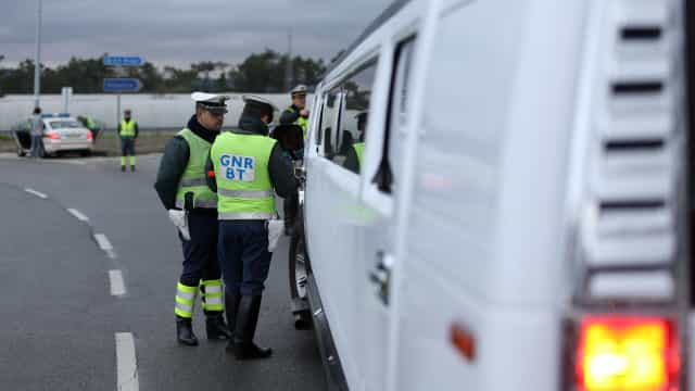 A GNR do Porto deteve 34 pessoas na semana passada