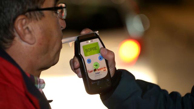GNR. Meia centena de condutores detidos com excesso de álcool em 12 horas