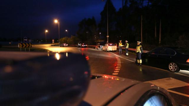 Maior parte dos detidos desta noite conduzia sob o efeito do álcool
