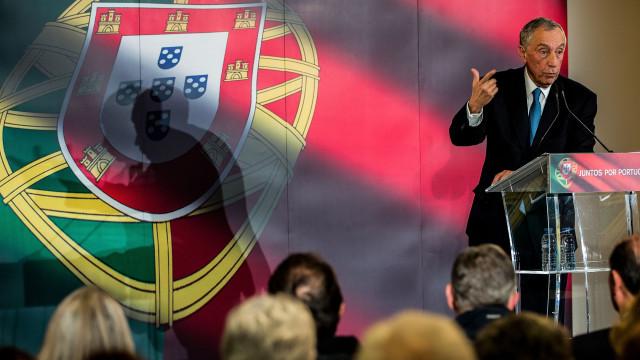"Presidente quer que Portugal reassuma papel de ""rampa de saída"""