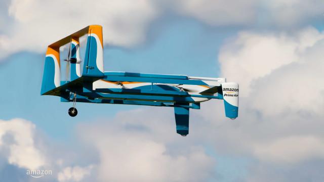 Amazon quer lançar drones capazes de interpretar gestos