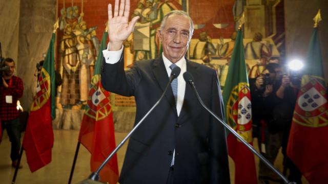Marcelo lembrou em Brasília a sua tomada de posse