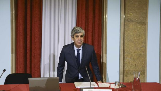 """""""Há uma possibilidade"""" de ser o próximo presidente do Eurogrupo"""