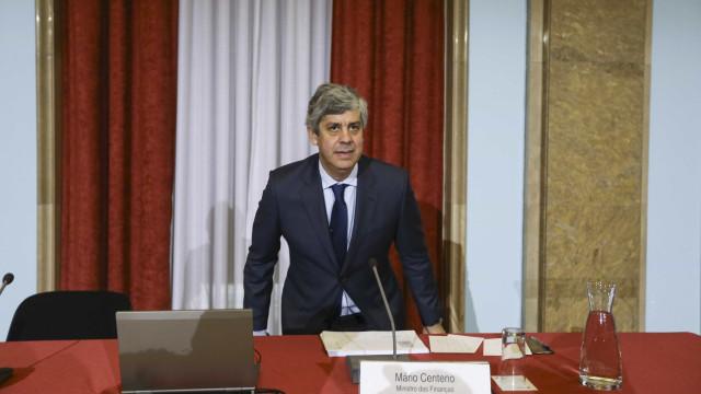Centeno admite reembolsar credores europeus já este ano