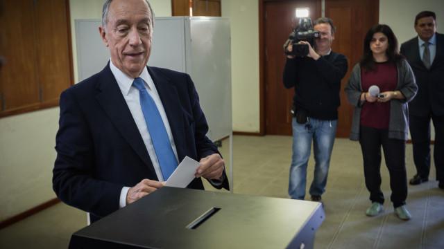 Cada voto em Marcelo custou 0,06 euros ao Estado. Em Nóvoa, 0,70