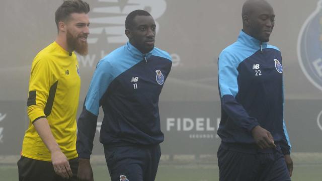 FC Porto: Marega já treinou com a equipa