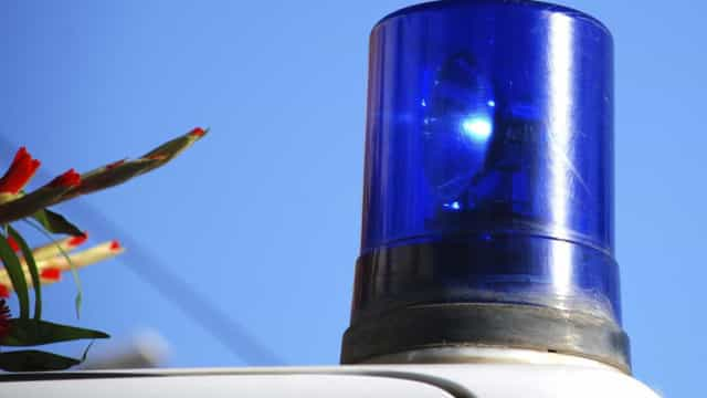 Ambulância despista-se contra árvore no Porto