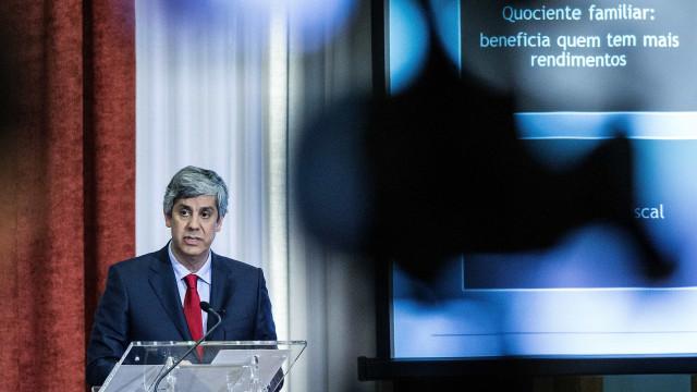 Centeno adverte que Portugal não vai pôr em risco resultados positivos