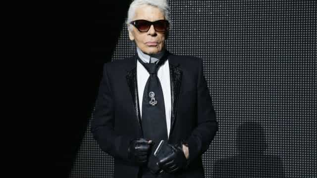 Morreu o designer da Chanel, Karl Lagerfeld