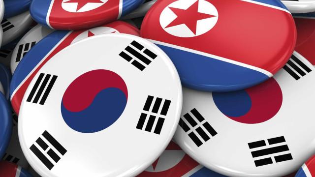 PyeongChang2018: Delegação da Coreia do Norte chegou a Seul