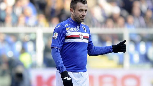 Depois de se ter retirado, Cassano quer... voltar ao futebol