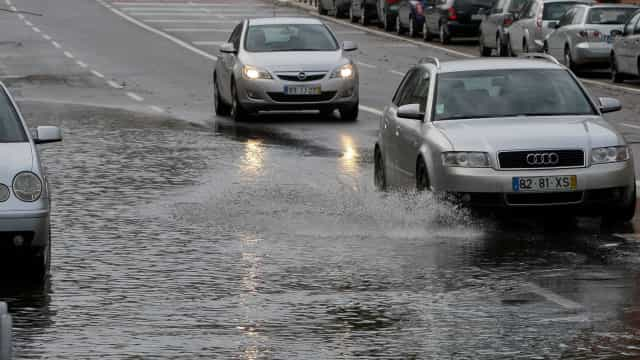 Continente sob aviso amarelo na quarta-feira devido ao mau tempo