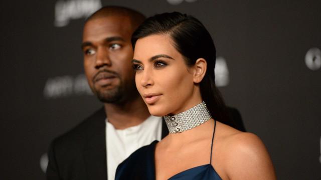 Kim Kardashian mostra cumplicidade entre marido e filha