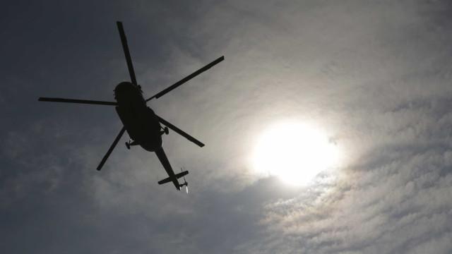 Helicóptero de combate a incêndio caiu na barragem de Vila Chã