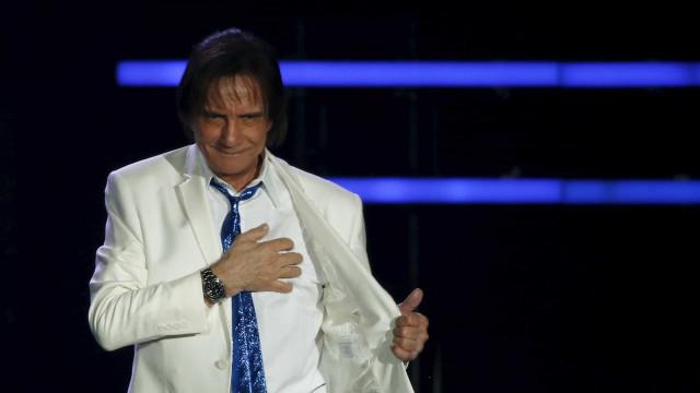 Saúde obriga Roberto Carlos a cancelar concerto
