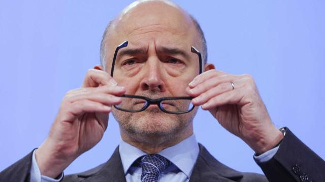 Bruxelas admite que défice português em 2018 fique abaixo das previsões