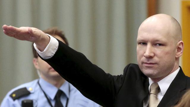 Breivik vê rejeitado recurso para o Tribunal Europeu dos Direitos Humanos