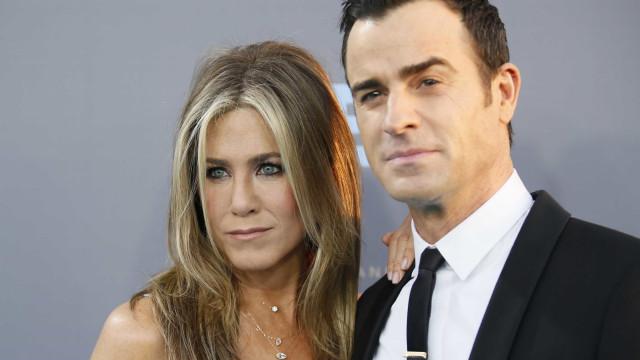 Jennifer Aniston e Justin Theroux tinham dividido casa 'ao meio'