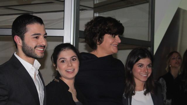 Júlia Pinheiro dá os parabéns ao filho, Rui Maria Pêgo