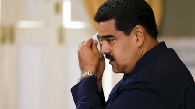 Maduro usa pela primeira vez língua gestual para enviar mensagem
