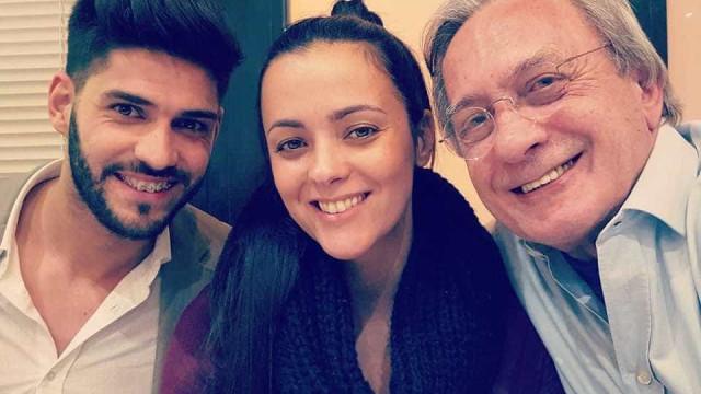 Carlos Cruz: Filha mostra primeira foto do apresentador após cirurgia