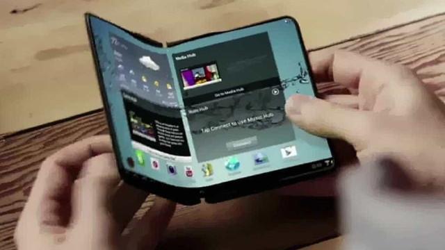 Samsung: Imagens de patente mostram como poderá ser o smartphone dobrável