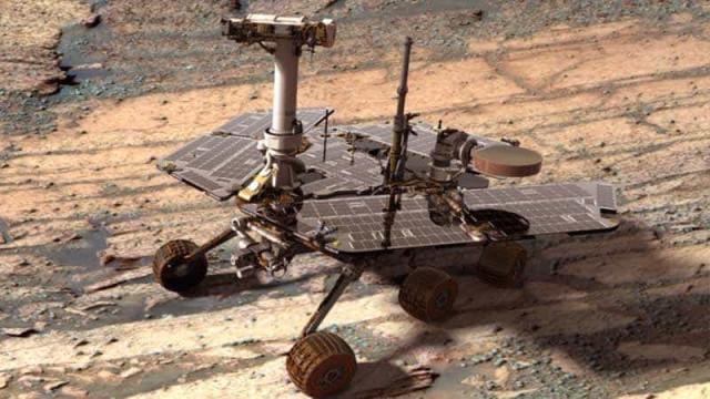 Rover da NASA apanhado em tempestade de areia em Marte