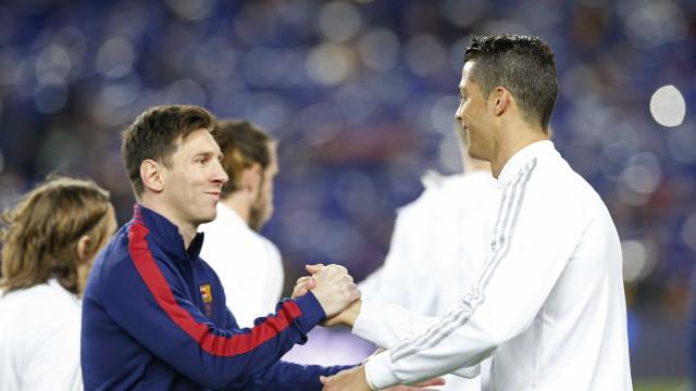 Messi à frente de Ronaldo: Argentino eleito o melhor do Mundo em 2017
